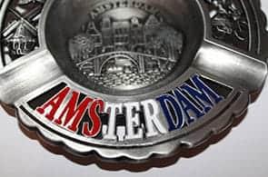 Souvenir Amsterdam ashtry
